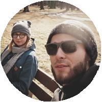 Zdjęcie profilowe agrr studio projektowe. Agnieszka Seremet i Grzegorz Wolski